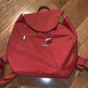 $bogo$ Baggalline orange backpack purse bag